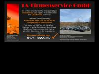 1a-firmenservice.de Webseite Vorschau