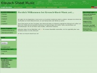 Kreusch-sheet-music.net