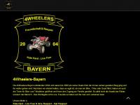 4wheelers-bayern.de Webseite Vorschau