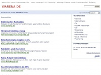 warena.de Webseite Vorschau