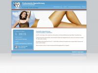 1a-haarentfernung.de Webseite Vorschau