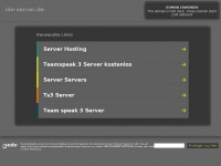 i4e-server.de Webseite Vorschau
