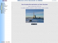 db0hex.de Webseite Vorschau