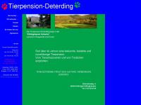 hundepension-deterding.de Webseite Vorschau