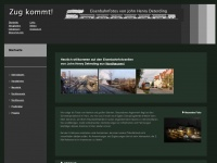zug-kommt.de Webseite Vorschau