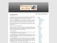 photoauge.de Webseite Vorschau