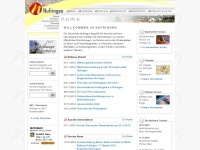 nufringen.de Webseite Vorschau