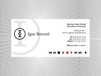 Igor-record.de