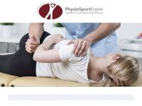 physiotherapie-mexner.de Webseite Vorschau