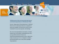 starterzentrum-rlp.de Webseite Vorschau
