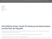 kickertischverleih.de Webseite Vorschau
