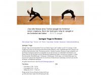 iyengar-yoga-bremen.de Webseite Vorschau