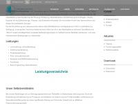 uvr-fia.de Webseite Vorschau