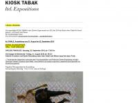 kiosktabak.ch Webseite Vorschau