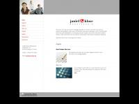 janiel-klose.de Webseite Vorschau