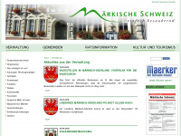 amt-maerkische-schweiz.de Webseite Vorschau