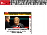 jazzcity.de Webseite Vorschau