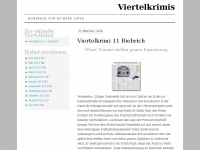 viertelkrimi.wordpress.com Webseite Vorschau