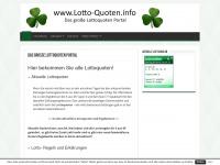 lotto-quoten.info Webseite Vorschau