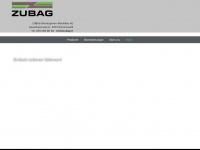 zubag.ch Webseite Vorschau