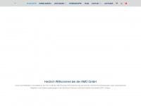 amd-germany.com Webseite Vorschau