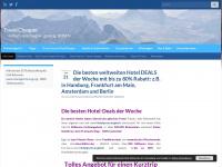 travel-cheaper.de Webseite Vorschau