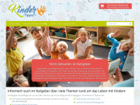 kinder-tipps.com Webseite Vorschau