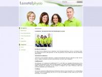 lonetalphysio.de Webseite Vorschau
