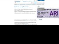 rechtsinformatik.univie.ac.at