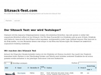 sitzsack-test.com