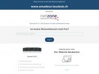 amadeus-lausbub.ch Webseite Vorschau
