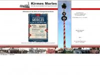 kirmes-morles.de Webseite Vorschau