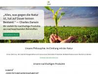 loick-biowertstoffe.de Webseite Vorschau
