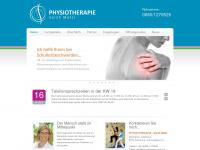 physiotherapie-matzi.at Webseite Vorschau