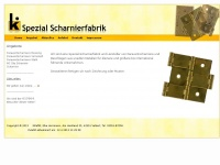 killefitt-paraventscharniere.de Webseite Vorschau