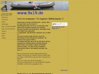 9x19.de Webseite Vorschau