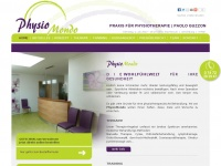 physio-mondo.de Webseite Vorschau