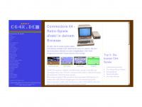 c64x.de Webseite Vorschau