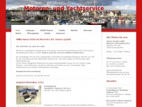 oq-yachtservice.de Webseite Vorschau