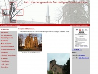 zur-heiligen-familie-kleve.de Webseite Vorschau