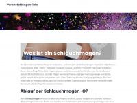 veranstaltungen-info.de Webseite Vorschau