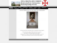 Nova-militia-jesu-christi.org