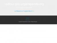 radtour-pro-organspende.info Webseite Vorschau