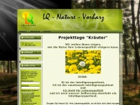 lq-nature.de Webseite Vorschau