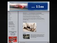 11es.de Webseite Vorschau