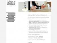 philosophieinstitut-michel.de Webseite Vorschau
