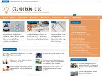 gruenderkueche.de Webseite Vorschau