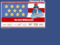 1americanstyle.de Webseite Vorschau