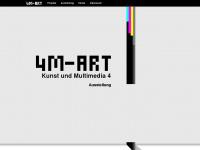4m-art.de Webseite Vorschau