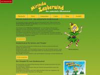 mirinda-zauberwind.de Webseite Vorschau